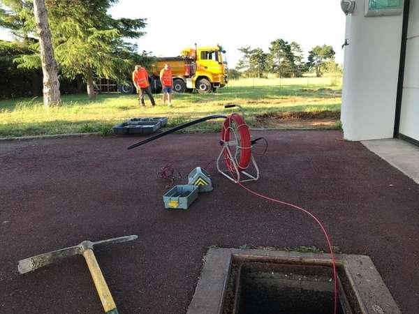 Recherche de réseaux avant chantier de terrassement