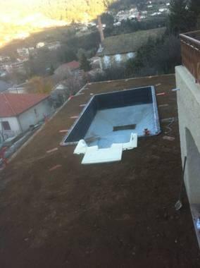 Terrassement et remblaiement piscine